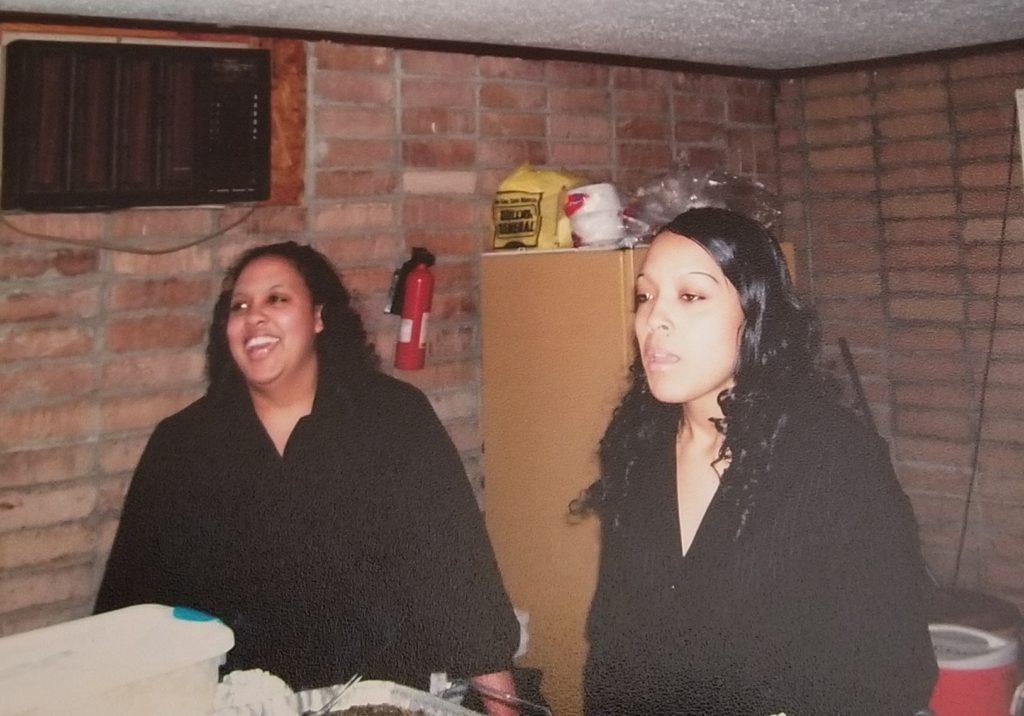 Nakisha and Nicole, twins of Kelvin and Sandra