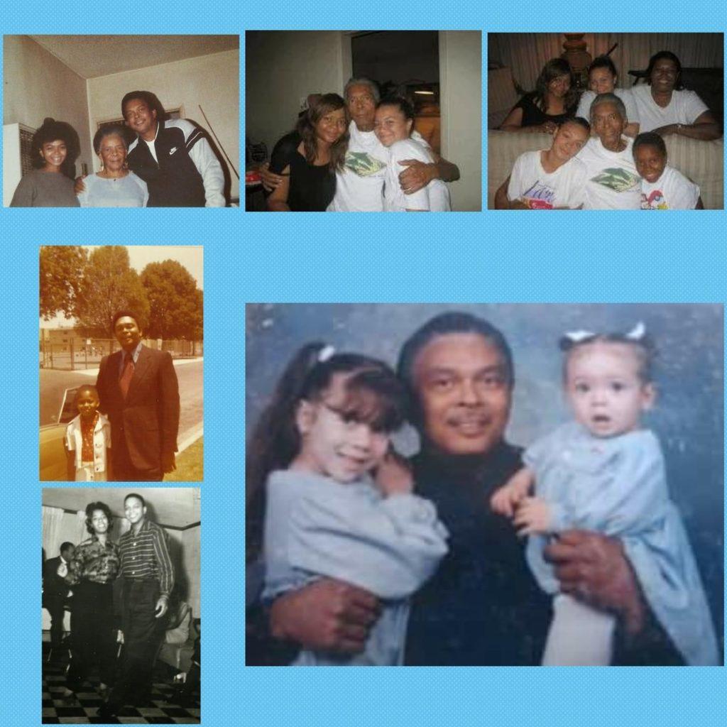 Leon Sudberry Family collage