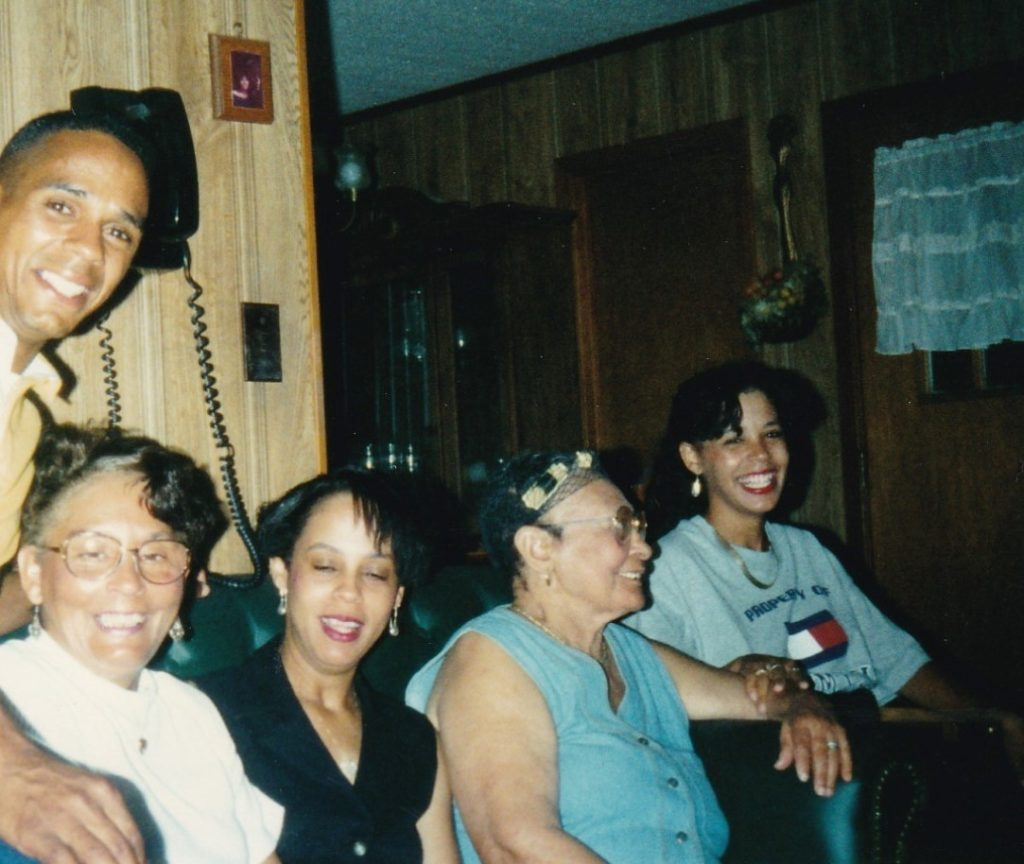 Lestine and Family with Leatha