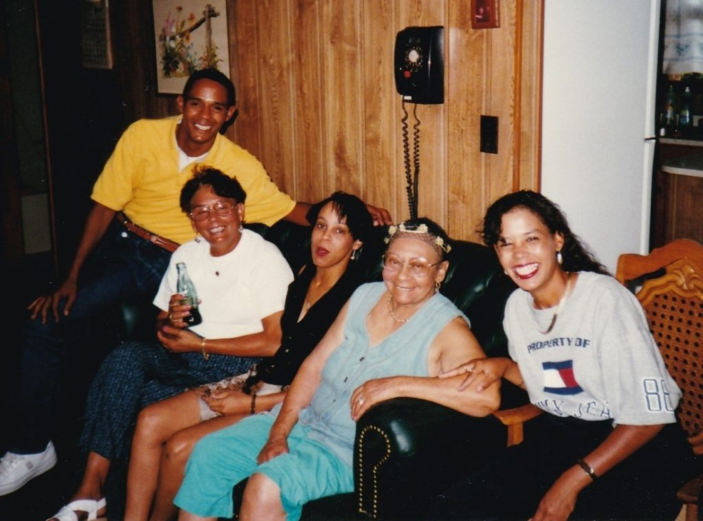 Lestine and Family with Leatha 2