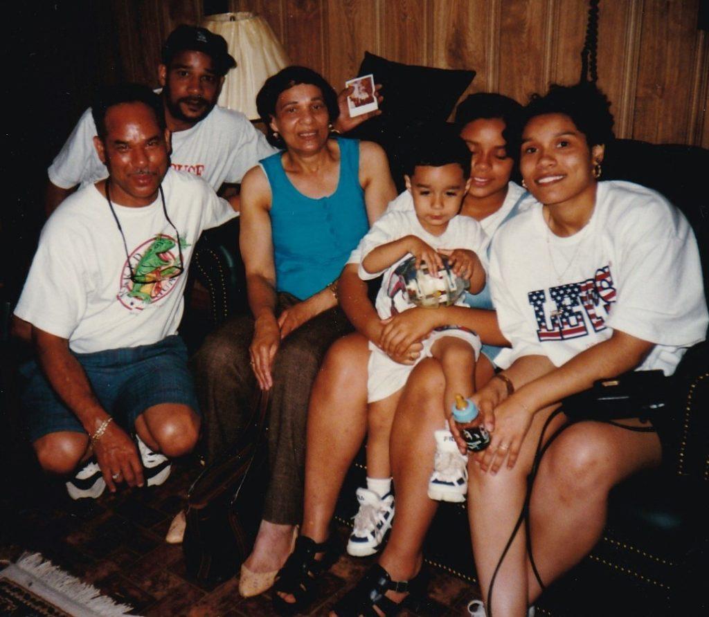 Major Wilson Jr. Sister and family