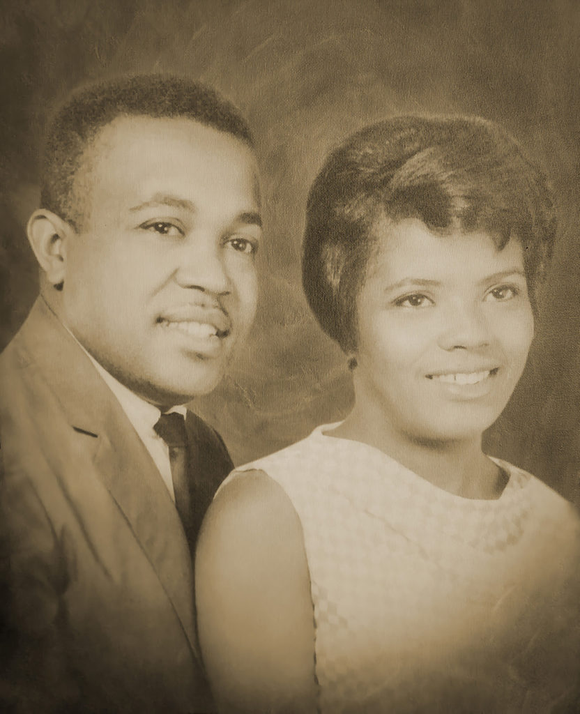 Pat and Leonard (7/22/32-4/16/17,married 1960