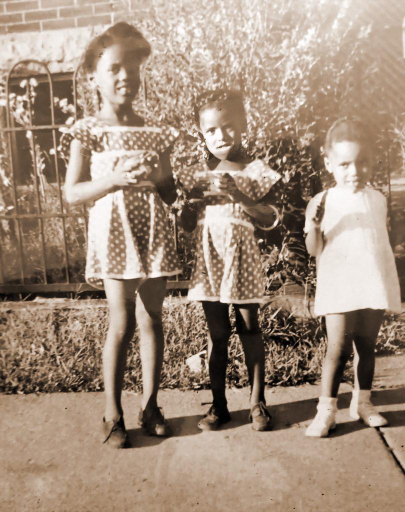 Yvonne, Patricia and Viola