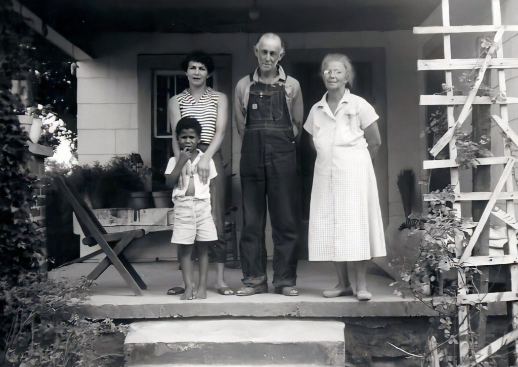 Buford, Bessie and Melene with son Byron -Correction per Carmel
