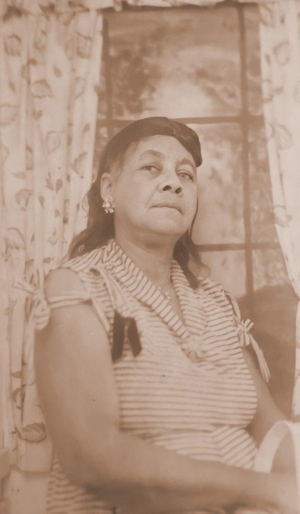 Lalar Lampley Hampton, daughter of Priscilla Johnson. Shared by M. Elvira