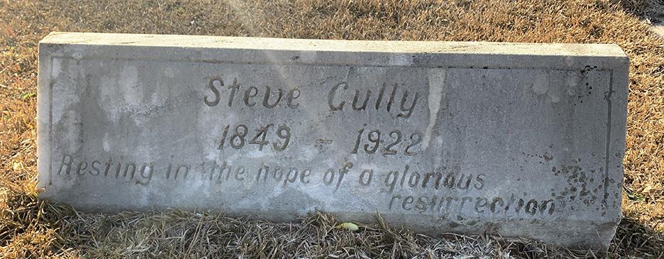 Steve Gully Gravestone photo shared by Karen Blackwell