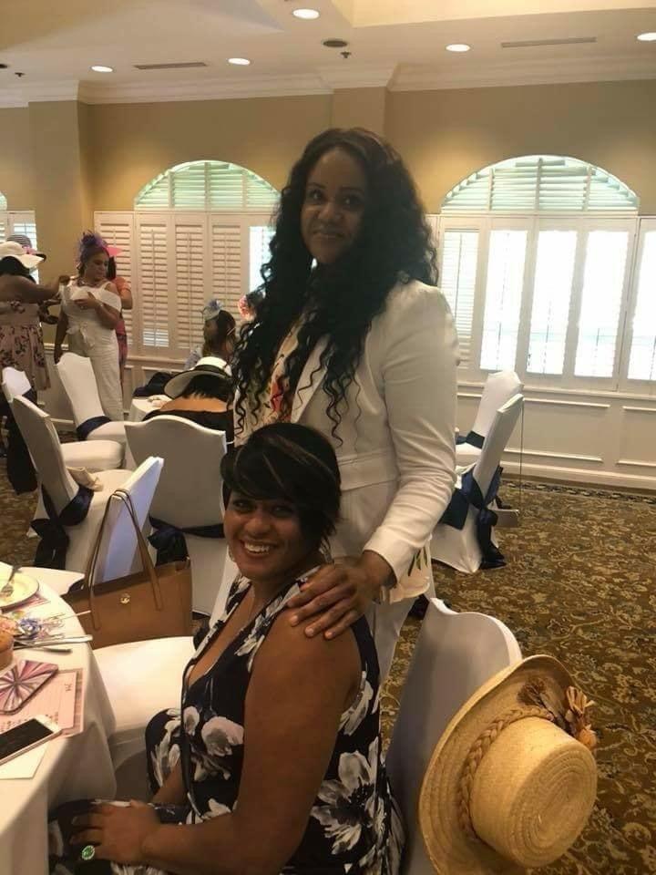 Melanie and Michele