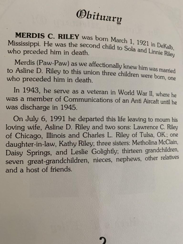 Merdis Riley 2 of 3