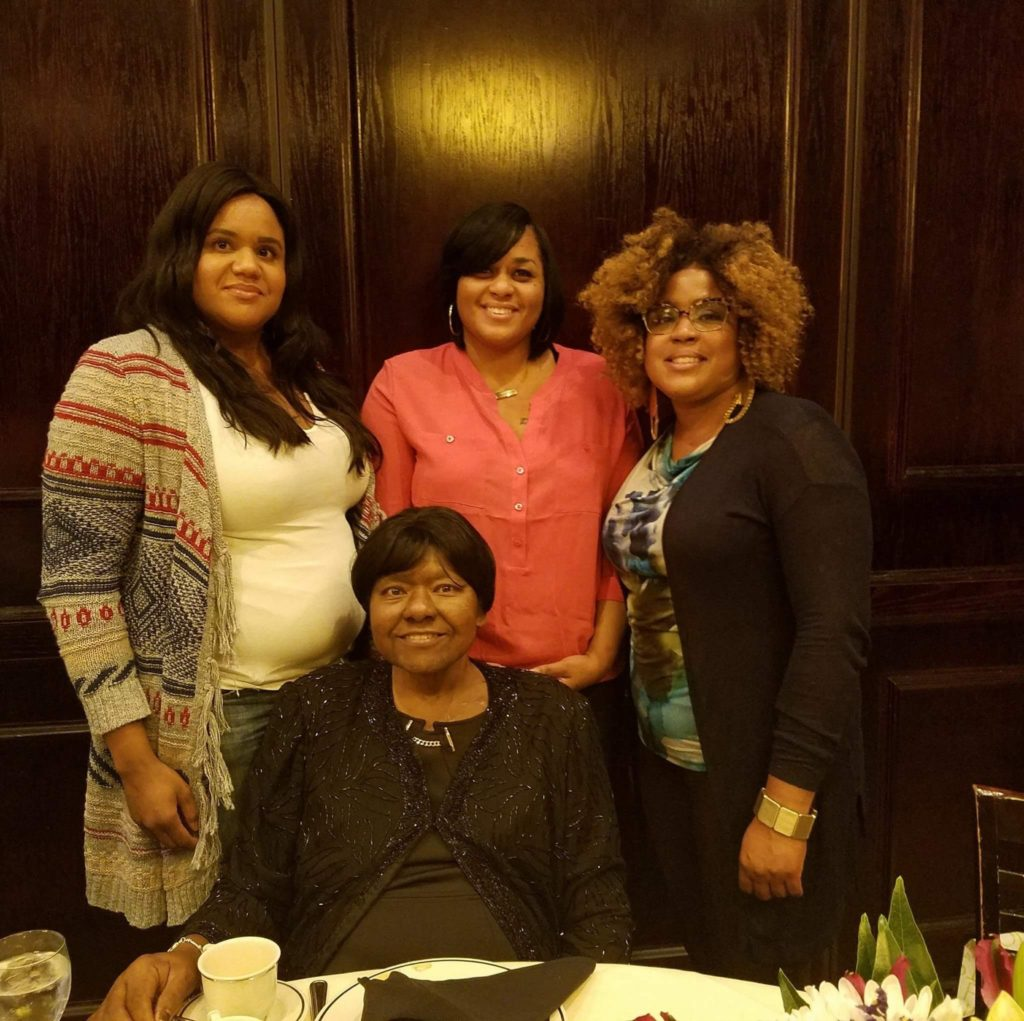 Michele, Melanie, Valarie,Mom Margaret