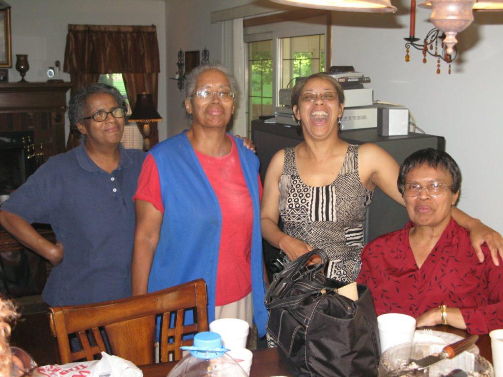 Pat, Viola, Denise, Yvonne