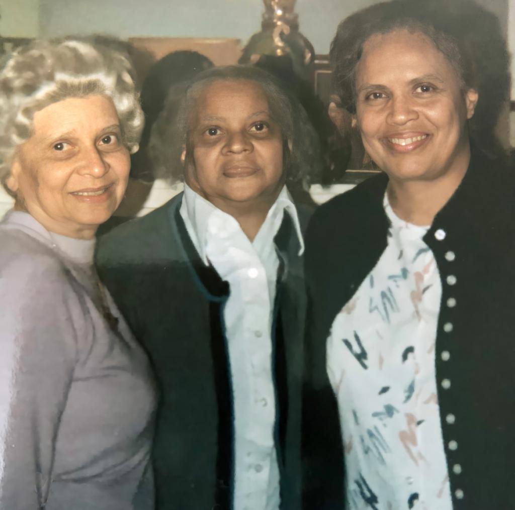 Gert, Ethel and Yvonne