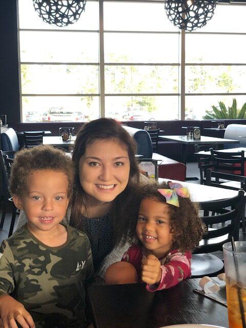 Landon, Kristina and Kaisley