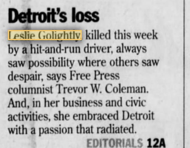 Leslie Golightly