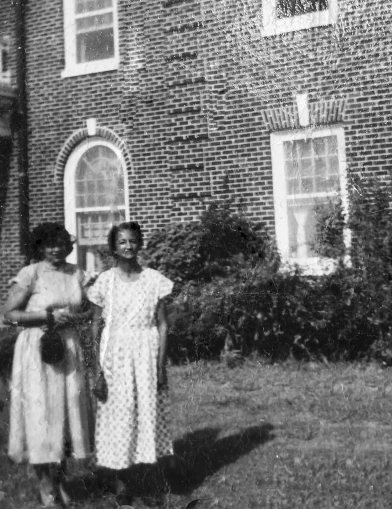 Gloria and Ethel Johnson