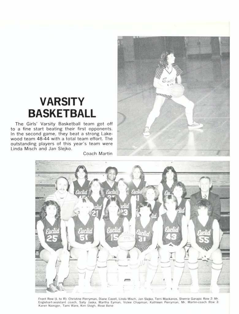 Shared by Robert W.-Cathleen and Christine Perryman - Euclid HS - 1979