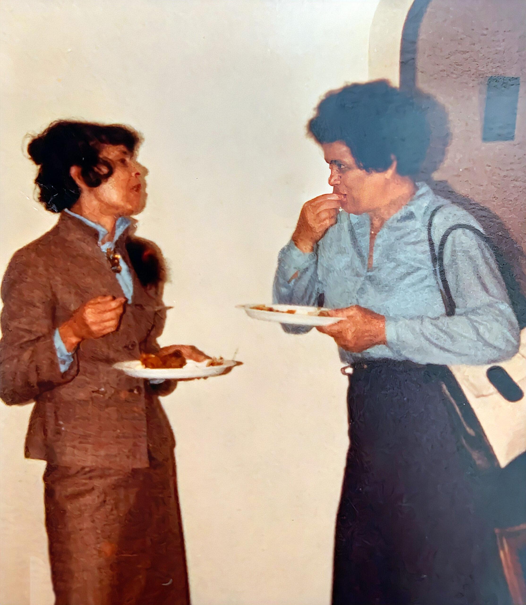 Doris Robinson and Gloria Hall-Shared by Timothy J