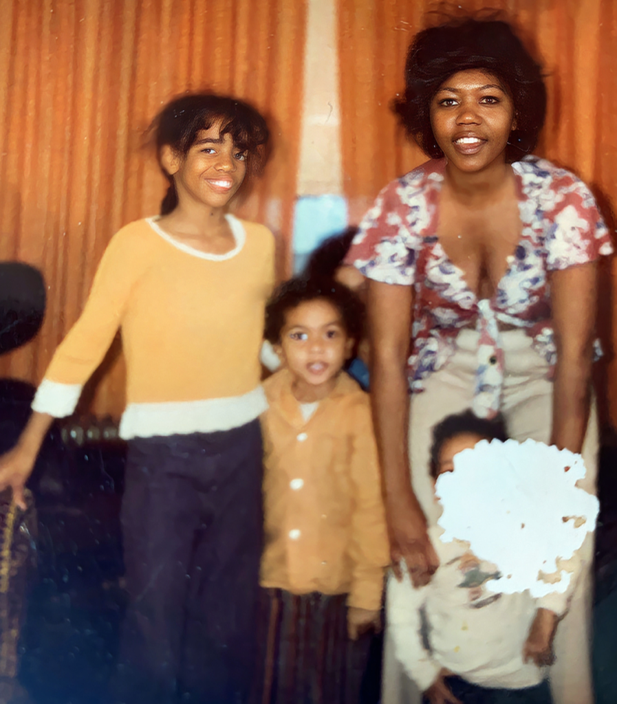 Jackie with her mother, Mark and Gerosca-Shared by Timothy J