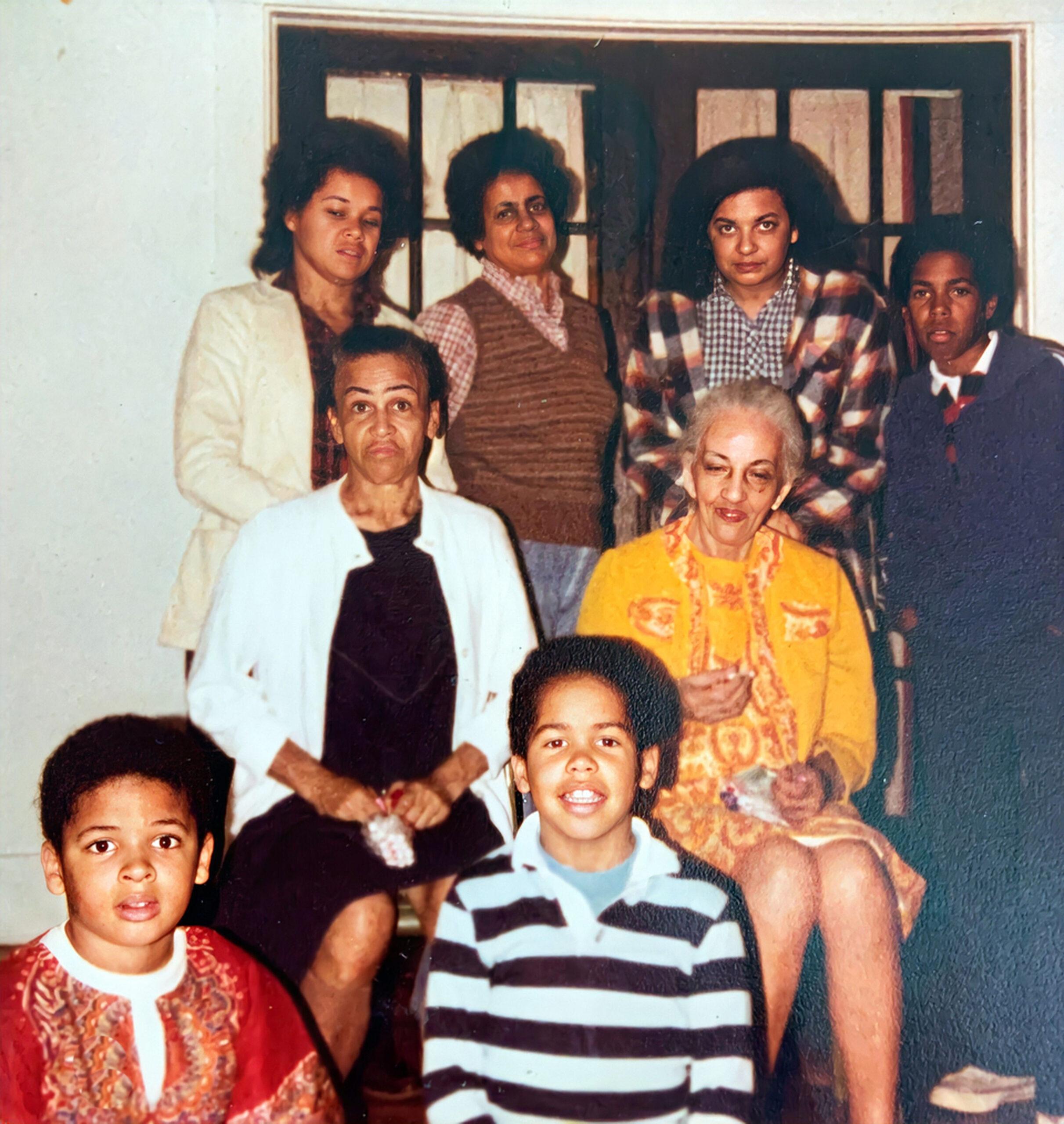 Top: Katie, Gloria, Daisy, Darryl, Middle:Milwee, Ethel Btm: Van N., Brandon Shared by Timothy J