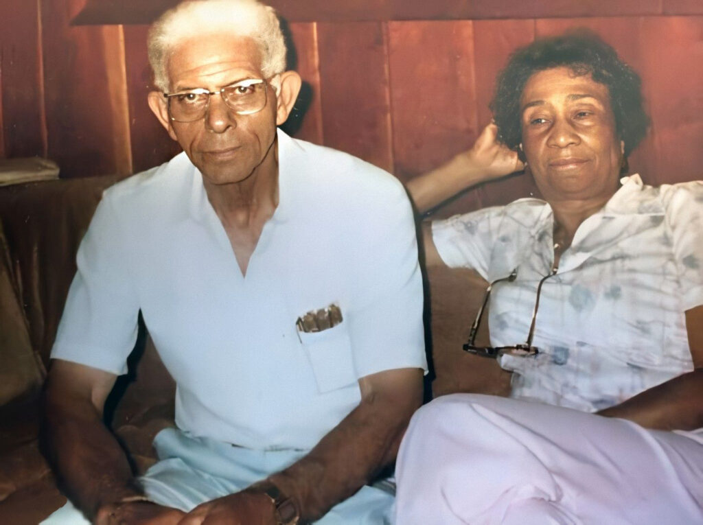 Shared by Mark Watkins: Louis and Mamie Smith Johnson