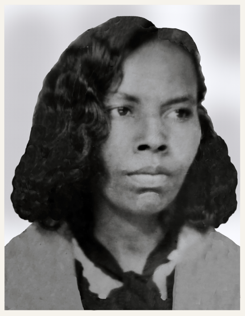 Sallie Rogers Turner Chapman -Granddaughter of Lou Turner Shared by Sonja Simpkins -restored by emp