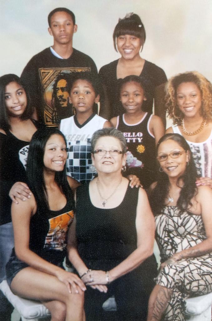 Martha Herrera Johnson Family-Shared by Theresa
