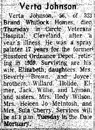 Johnson Verta Toledo Blade Mar 22 1976 p9